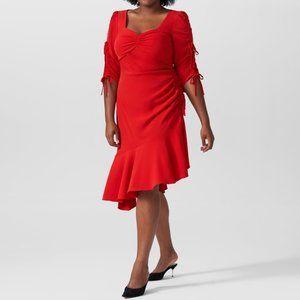 Universal Standard Rodarte Red Dress XL